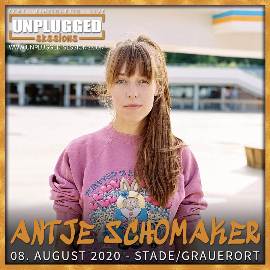 Antje Schomaker bei den Unplugged Sessions 2020